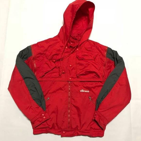 Jacket Removable HoodRig w Vintage Ellesse QBosxhdCrt